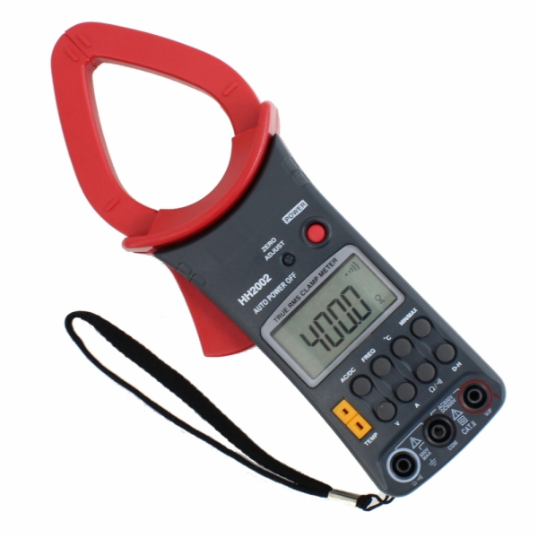 Clamp On Ammeter Dc : Pro series dc ac clamp on ammeter multimeter