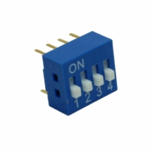 TIN PLATED BOX TYPE DIP SWITCH