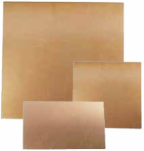 Assortment of 4 Copper Clad Boards