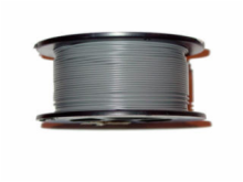 22AWG 1000' Solid Gray Wire