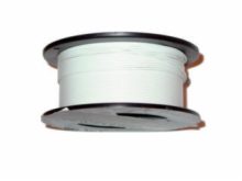 22AWG 1000' Solid White Wire