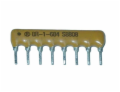220 Ohm 8 Pin 7 Resistor Thick Film Sip Network 2%