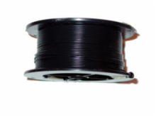 22AWG 100' SOLID BLACK WIRE