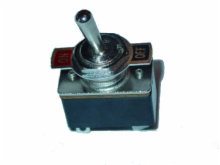 SPST, ON-OFF, 3A/125V Toggle Switch