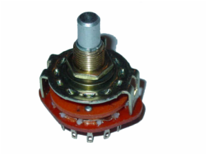 3POL 4POS ROTARY SWITCH