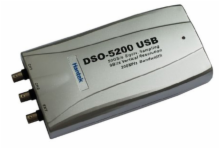 PC Based 200MHz USB DSO with 2 Probes