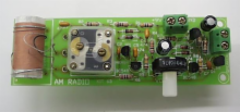One Chip AM Radio Kit