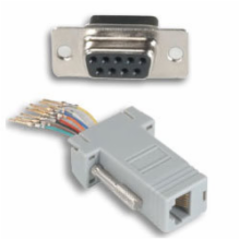 DB9-F to RJ45 with Key