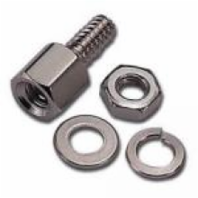 Hex Screw Hardware Pack for D-Sub Right Angle PC Connector