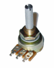 500K Ohm Subminiture Linear Taper Potentiometer