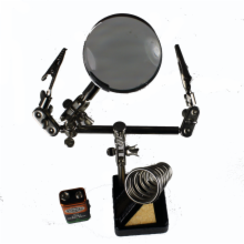 Magnifier, Helping Hand and Soldering Stand