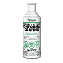 12 oz. aerosol, Clear Acrylic Lacquer Conformal Coating
