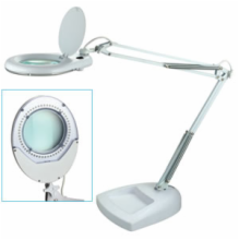 56 LED Table Lamp with Glass Magnifier Lens