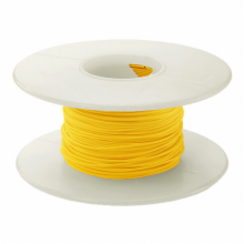 100' 28 AWG Wire Wrapping Wire - Yellow