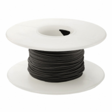 1000' 30 AWG Wire Wrapping Wire - Black