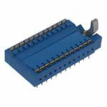 24 Pin Low Cost ZIF Socket