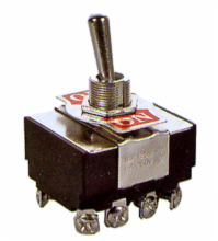 4PST ON/OFF Heavy Duty Toggle Switch