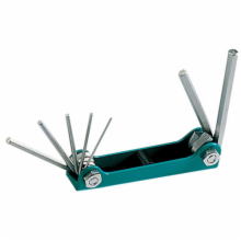 7PC. Folding Hex Key Set