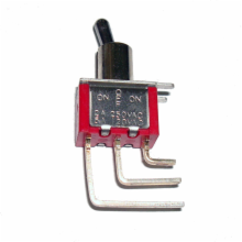 T80-T Series PC Mount Toggle Switch - ON OFF ON