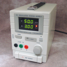 Benchtop Power supply 0-50Volts Regulated