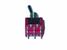 ON NONE (ON) DPDT Miniature Toggle Switch