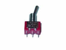 SPDT ON OFF (ON) Miniature Toggle Switch