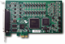 8-CH 16-Bit PCI Express Analog Output Card
