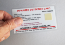 IR (infrared) Detection Card 850nm