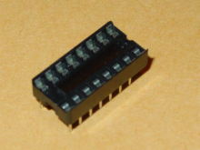 Solder Tail Low Profile Dual Wipe: 16 Pins.