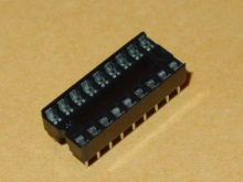 Solder Tail Low Profile Dual Wipe: 18 Pins.