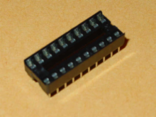 Solder Tail Low Profile Dual Wipe: 20 Pins.