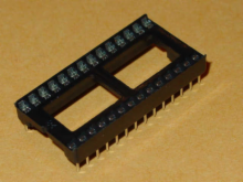 Solder Tail Low Profile Dual Wipe: 28 Pins.