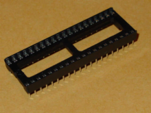 Solder Tail Low Profile Dual Wipe: 40 Pins.