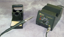 Solder Station with Analog Display