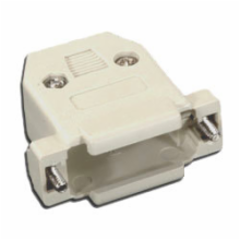 Plastic Hood for 15 Pin D-Sub Connector