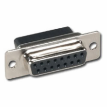15 Pin Female D-Sub Crimp Connector