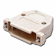 Plastic Hood for 25 Pin D-Sub Connector