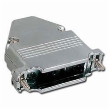 Die Cast Metal Hood for 25 Pin D-Sub Connector