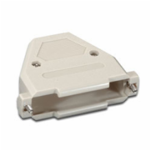 Plastic Hood for 37 Pin D-Sub Connector