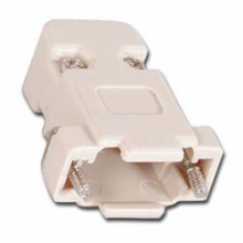 Plastic Hood for 9 Pin D-Sub Connector