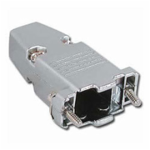 Die Cast Metal Hood for 9 Pin D-Sub Connector