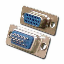 15 Pin Female High Desnity D-Sub Connector