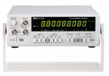 50MHz-1.5GHz Frequency Counter with Time Interval & Ratio
