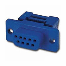9 Pin Female D-Sub IDC Connector