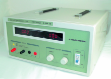 Heavy Duty Regulated Linear 0-200V/0-2A DC Bench Power Supply