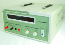 Heavy Duty Regulated Linear 0-120V/0-5A DC Bench Power Supply