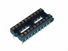 20 Pin Machine Tooled Low Profile IC Socket