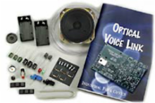 Optical Voice Link - Unassembled