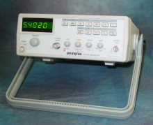 Instek 5MHz Function Generator w/Ext. Counter