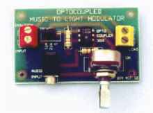 Audio-to-Light Modulator Kit